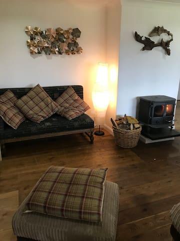 Living room / kitchen area
