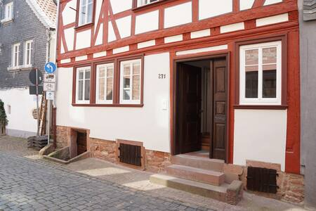 Modernes Wohnen in historischem Fachwerkhaus