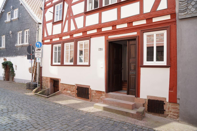 Unser historisches Fachwerkhaus im Herzen der Miltenberger Altstadt