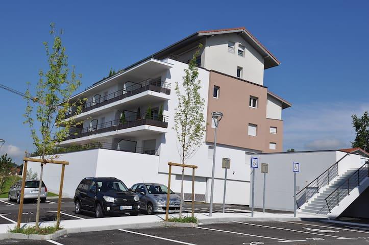 Résidence entre Annecy et Genève proche de la gare - Groisy - Lägenhet