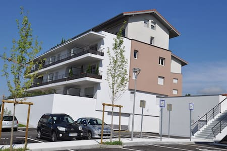 Résidence entre Annecy et Genève proche de la gare - Groisy - Apartament