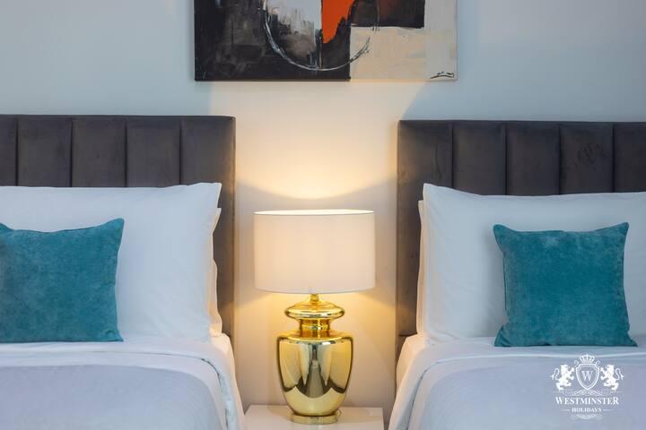 Beautiful TWO BEDROOMS at Burj khalifa area