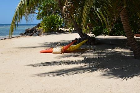 Moorea Beachfront House.PassageDolphinsWhales - Mo'orea - Vila