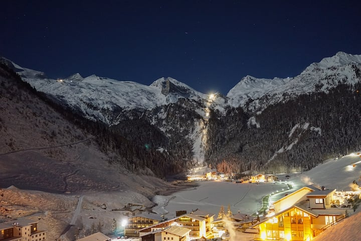Apartment with garden for 4 Persons in Hintertux