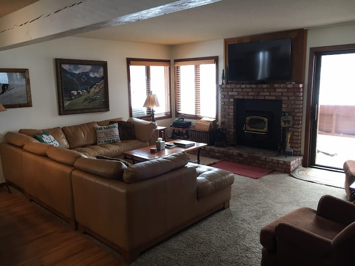 1BR, Mtn Views, New Kitchen, 2 flat screen TV's