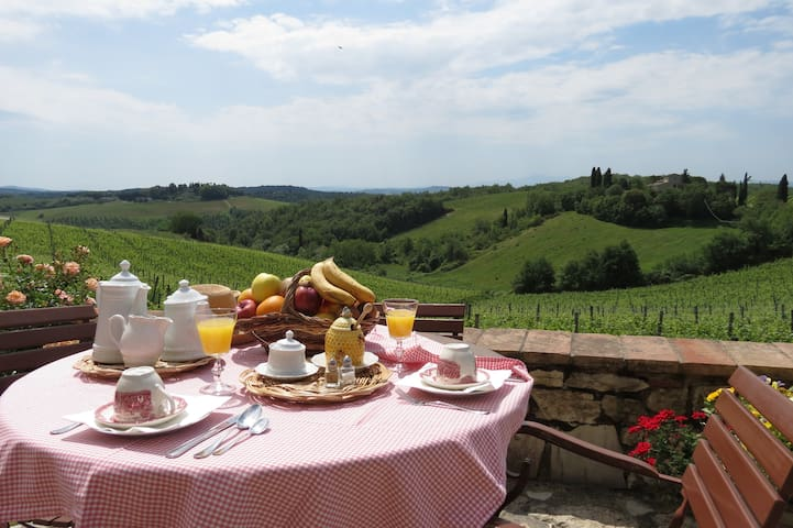 Villa Oliviera- Breakfast & Optional Cooking Class - Gaiole In Chianti - วิลล่า