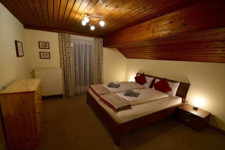Room 6, attic bedroom