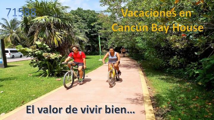 Un lugar muy especial:  Cancún Bay House.