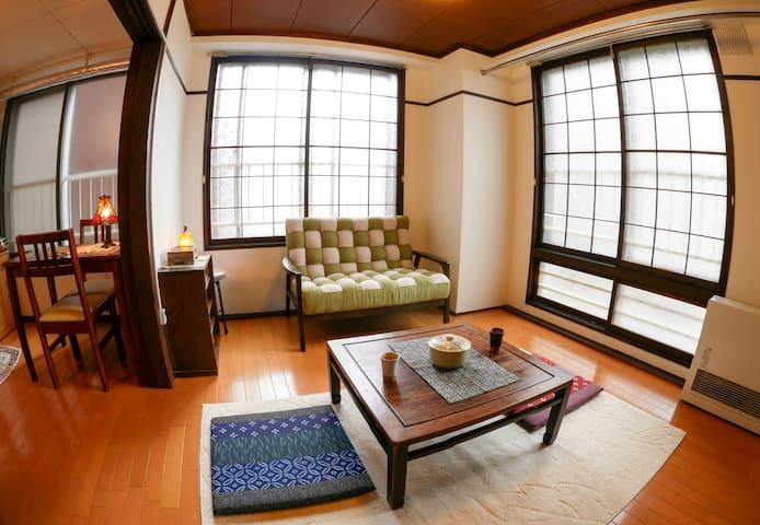 Japanese vintage style&Best location+Wi-Fi - Chūō-ku, Sapporo-shi