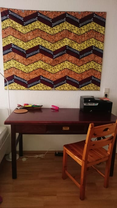 Dein Zimmer/Private Room-Desk