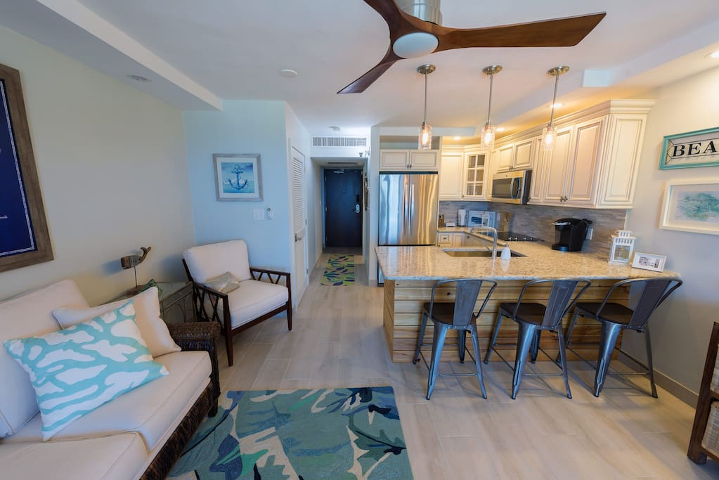 Completely remodeled condo villa