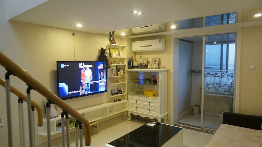 地铁复式精装两室LOFT公寓,整套出租~超温馨哦 - Ningbo - Apartemen