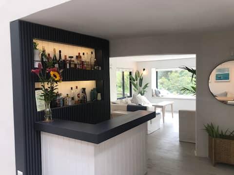 Casa recién remodelada a pasos de playa Zapallar