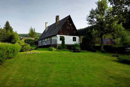 Holiday cottage with large garden - Haus
