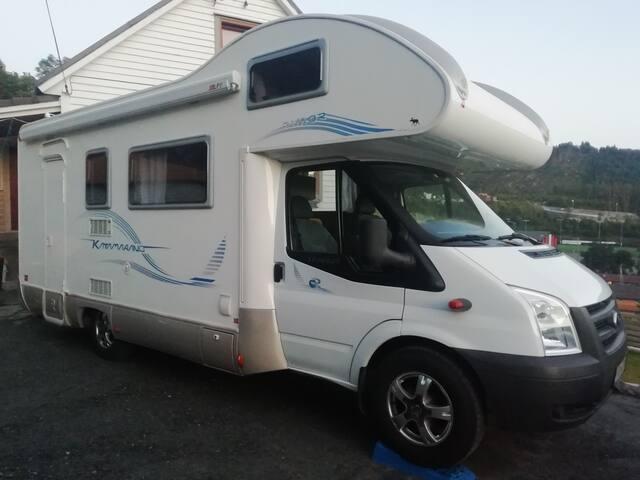 Camping house near Bergen