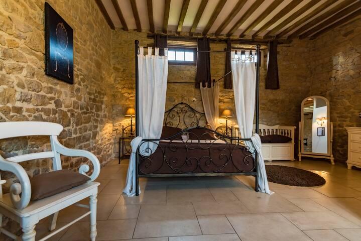 Seigneur Ganne room - La Pommeraye - Bed & Breakfast