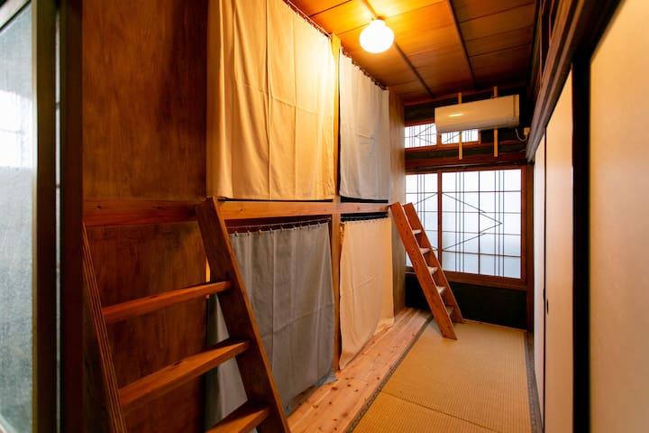 Mojiko Guesthouse PORTO 【4-bed Mixed Dormitory】