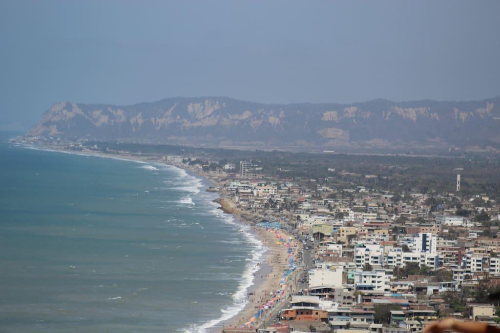 Views of Crucita from La Loma