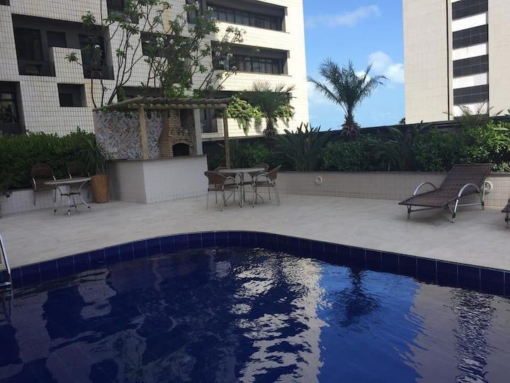 Lindo Apartamento 2 suites na Beira Mar