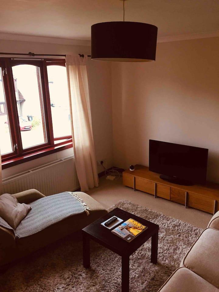 Aberdeen, Kingswells, 2 bed top floor apartment.