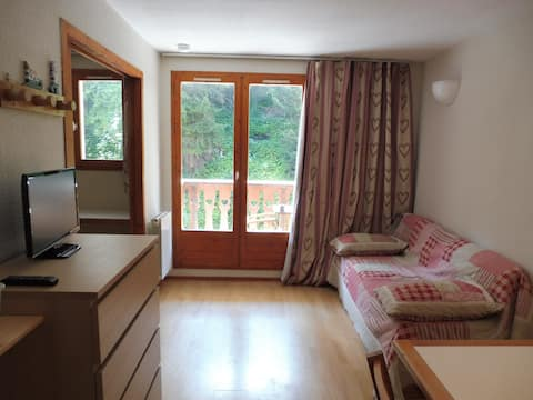 Valfrejus Confortable appartement 4 personnes