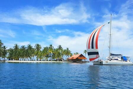 Catamaran en San Blas (PANAMA) - Panamá - Loď