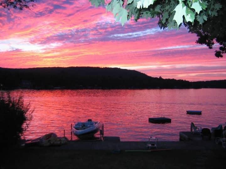 Culver Lake Waterfront Cabin