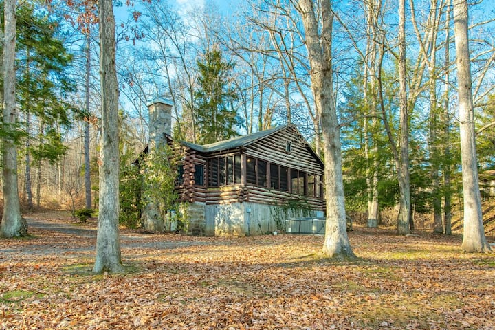 DOG WELCOME! Sandy Beach Lakefront w/Private Dock, Hot Tub, & Fire Pit!