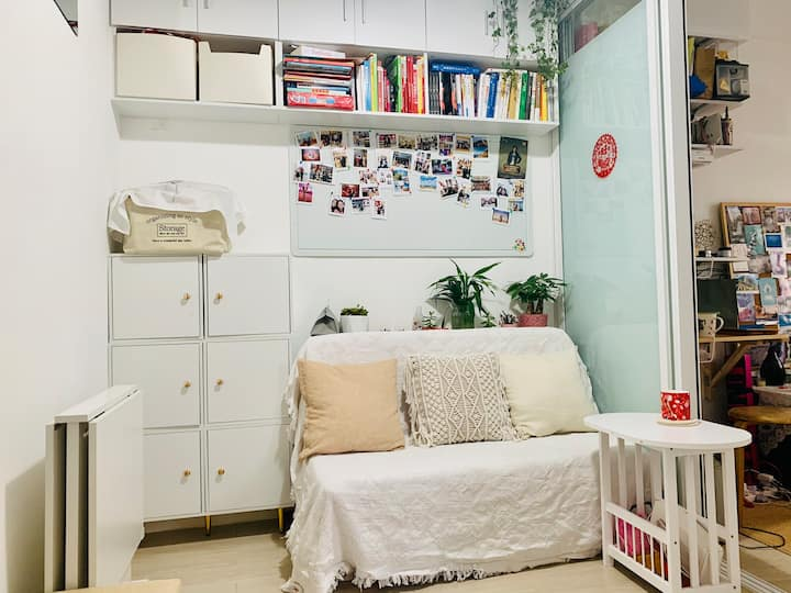 Cozy & stylish room in KT, near HKU. Female only