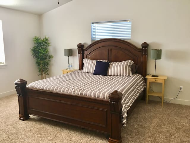 Brand New Master Bedroom with a Private bathroom.