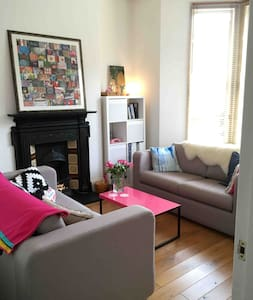 Charming Victorian one bed garden flat.