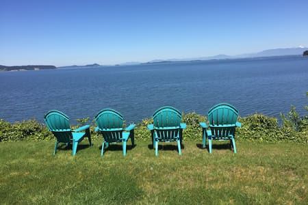 Stunning Views - Master Retreat - Camano Island
