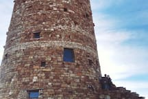 The watch tower at The Grand Canyon! Don't miss it! We have advice on the perfect route for you!