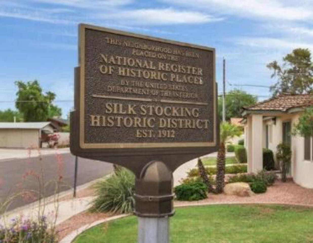 """The Historic """"Silk Stocking"""" District where the home is located, along with Downtown Chandler have experienced tremendous revitalization in recent years!"""