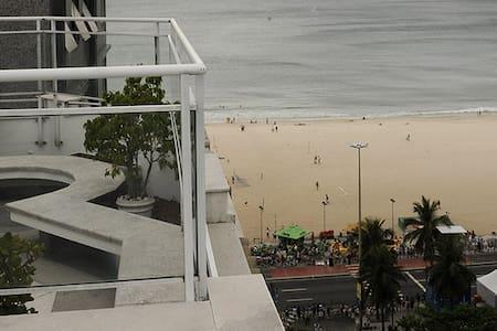 ApartHotel vista mar de Copacabana - Rio de Janeiro