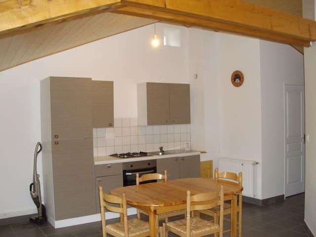 Studio meublé sous les toits à la campagne - Saint-Pal-de-Mons - Apartmen