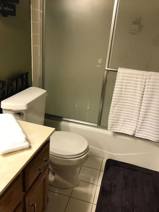 Private Bathroom ,