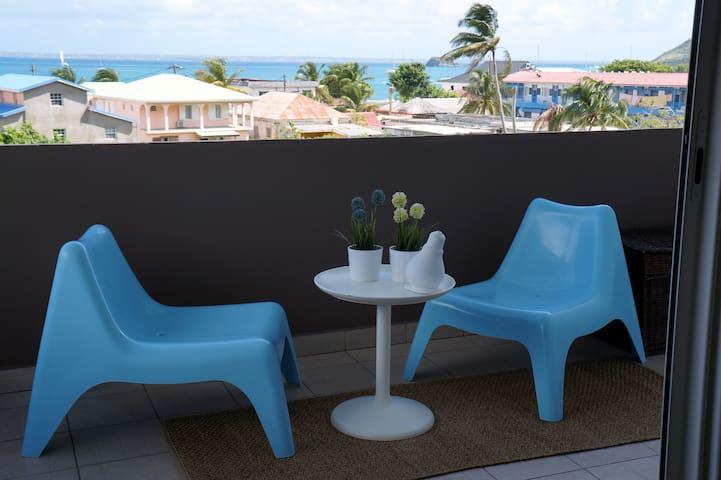 Appartement très bon standing avec vue sur mer