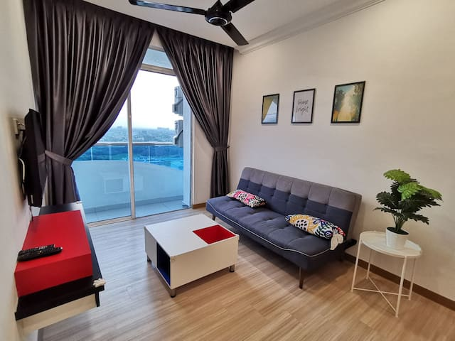 New modern 2 bedroom/near to jonker/infinity pool
