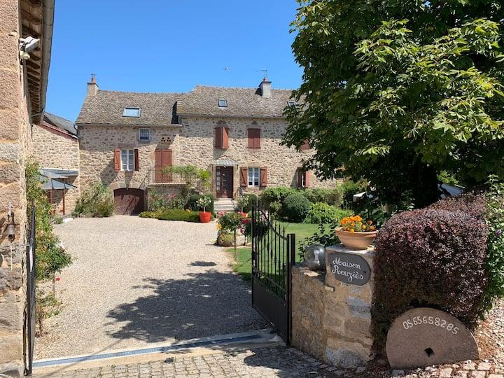 Chambres d'hôtes en Aveyron pour 2 - La Source