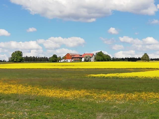 Ferienwohnung im Grünen nahe Feuchtwangen