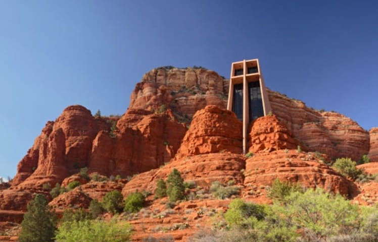 Church of the red rocks.