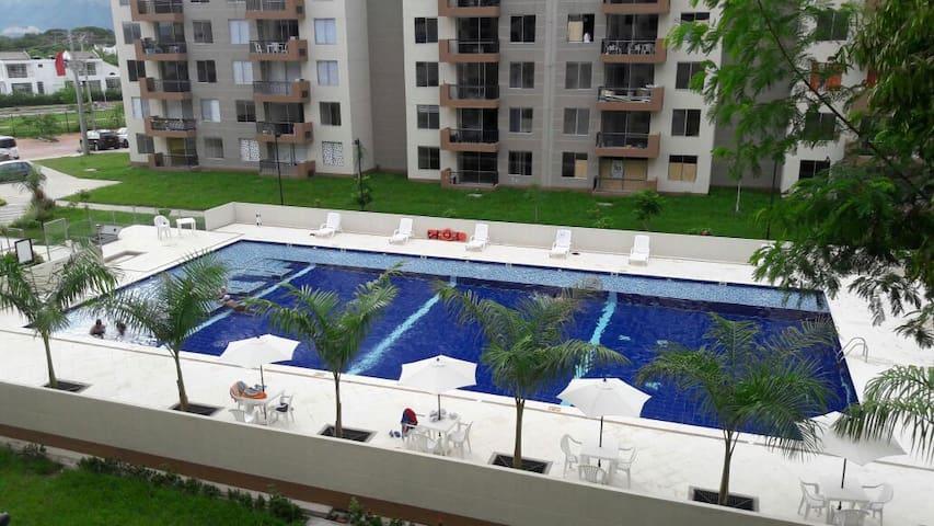 Apartamento en Hacienda Peñalisa - Ceiba - Ricaurte - Huoneisto