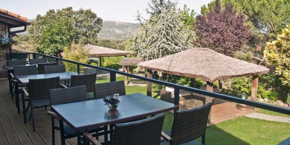 SAIKA Rural -Duplex para 2/3 pax -Sierra de Madrid