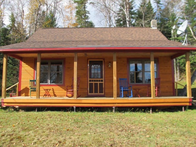 Our Camp - Great newer cabin with shared access to Rangeley Lake