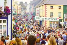 Ballycastle town on Lammas Fair Day