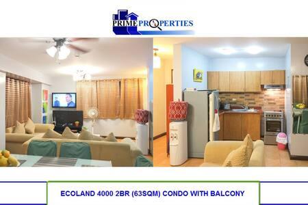 Spacious 2BR Ecoland Davao Condo with DSL Internet - Davao City - 公寓