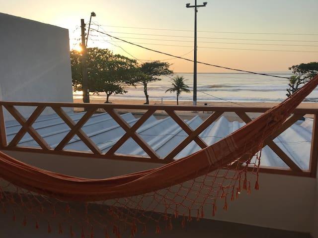 Apto frente mar Ar condicionado Praia do Ule Casal