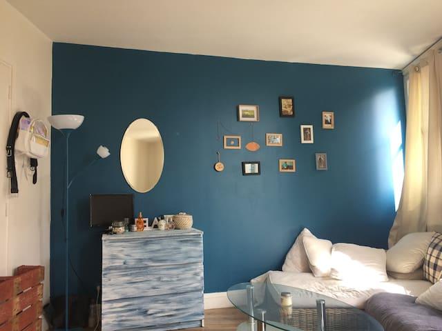Suite lumineuse dans une colocation - Paris - Apartemen