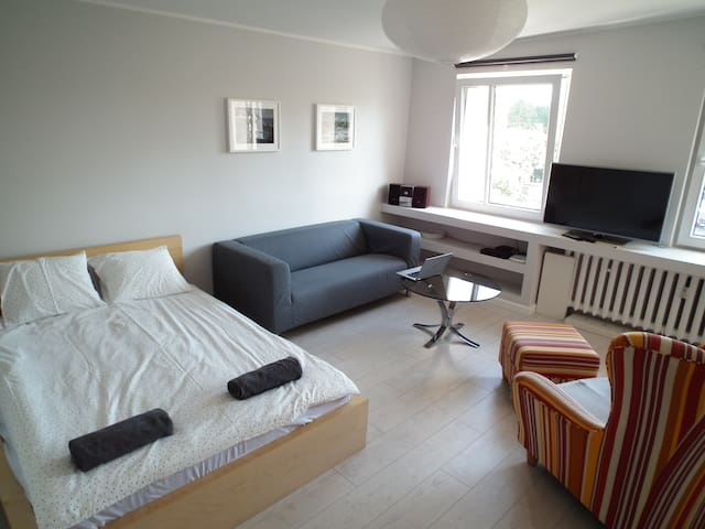 Bright and spacious flat close to the City Centre - Gdynia - Pis